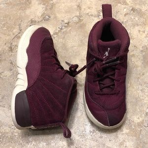 65b564b2454122 Jordan Retro VII 12 Bordeaux Toddler Size 10C Kids
